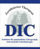 DIC zertifizierter Therapeut, Chiropraktik Diplom, Auszeichnung