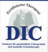 DIC zertifizierter Therapeut